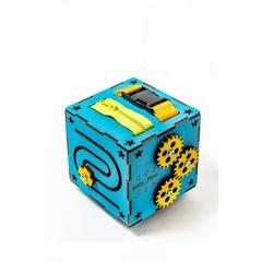 Easy Time Развивающий БизиКуб мини (синий) (ms01)