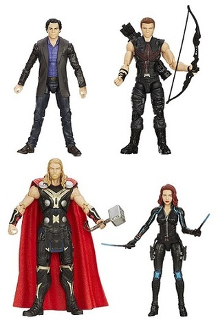 The Avengers Marvel Legends Infinite Four Pack