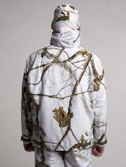 куртка для охотника удлинена по спине