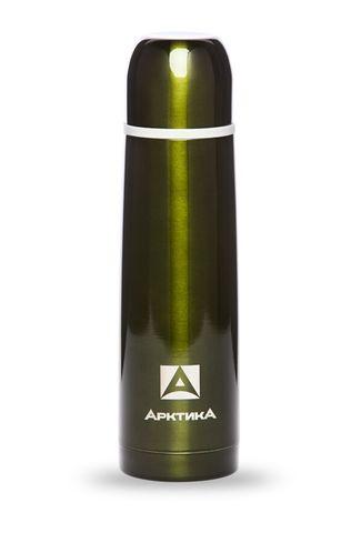 Термос Арктика (102-500 болотный) 0,5 литра с узким горлом классический, болотный