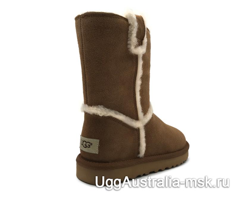 UGG Classic Short Top Wool Brown