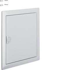 Наружная рамка с дверцей для встраиваемого щитка Volta,1-рядного, RAL9006, серебряный металлик