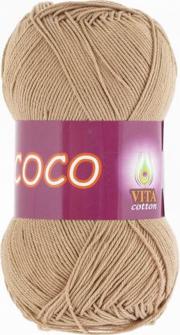 Пряжа Vita Coco 4312 теплый беж