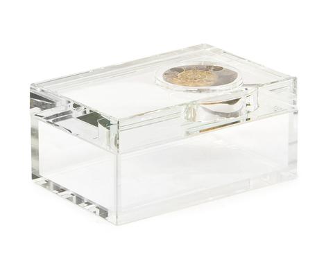 Ammonite and Crystal Box