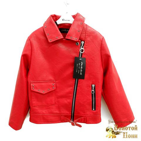 Куртка экокожа девочке (3-11) 200318-W2001.3
