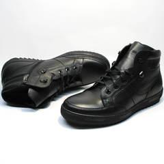 Зимние ботинки мужские Ikoc 1608-1 Sport Black.