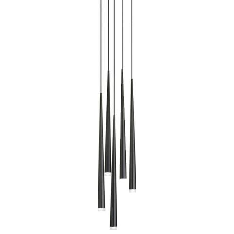 Подвесной светильник копия Slim by Vibia (5 плафонов)