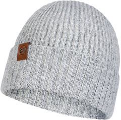 Вязаная шапка Buff Hat Knitted Biorn Light Grey