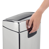 Прямоугольный мусорный бак Touch Bin (10 л), артикул 477201, производитель - Brabantia, фото 7