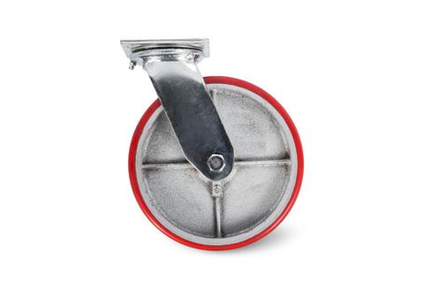 Колесо большегрузное поворотное PU (SCp 55) 125мм, шт