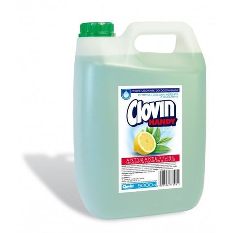 Clovin Handy жидкое мыло Лимон и Зеленый чай 5