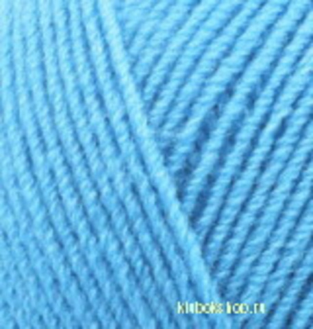 Пряжа Lanagold FINE (Alize) 287 светло-бирюзовый, фото