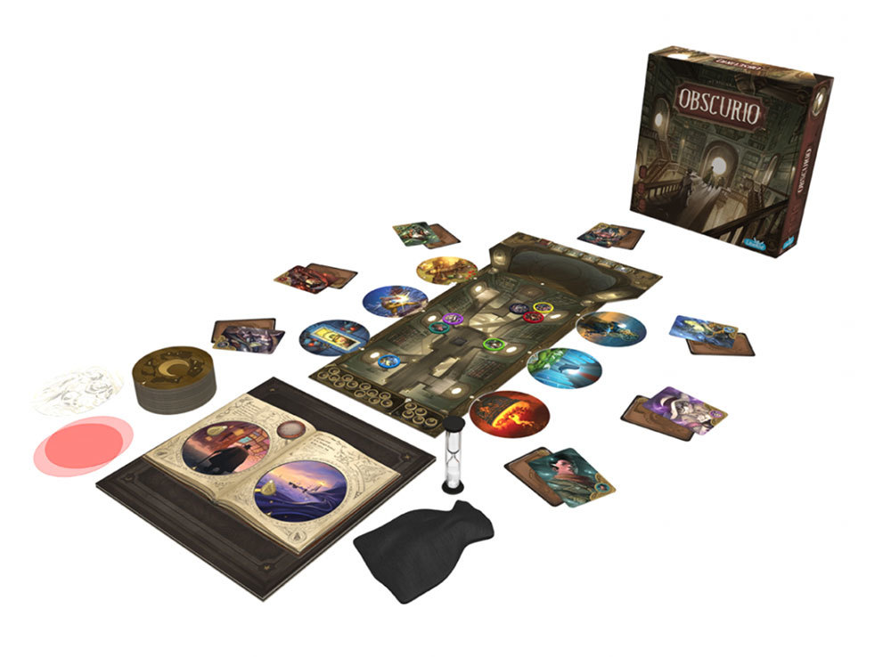 Настольная игра Обскурио (Obscurio): комплектация