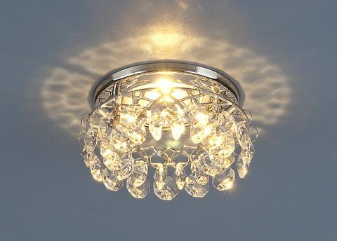 Точечный светильник 7070 MR16 СH/CL хром/прозрачный