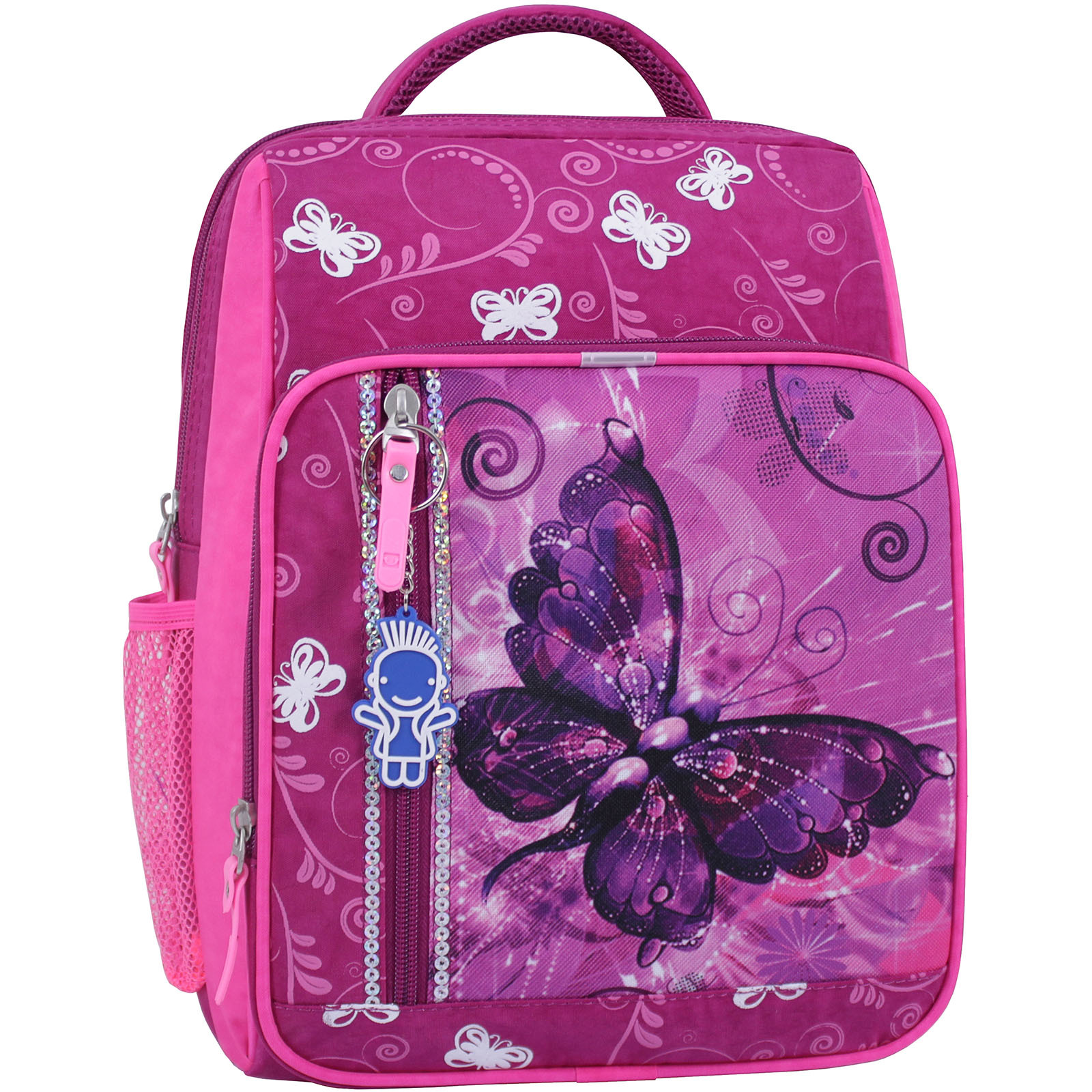 Школьные рюкзаки Рюкзак школьный Bagland Школьник 8 л. 143 малиновый 615 (0012870) IMG_0835_суб.615.JPG