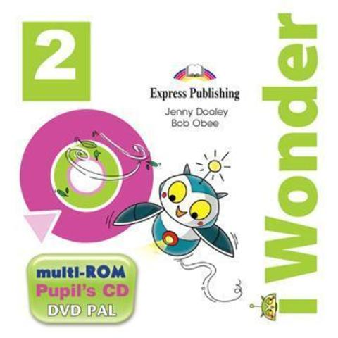 I-wonder 2. Pupils Multi-Rom Pal (international). Аудио CD/DVD видео