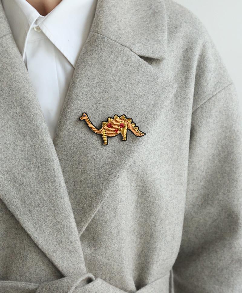 Брошь Dinosaur