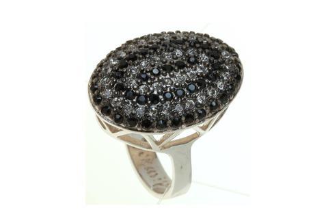 Кольцо с серебрением Гросс