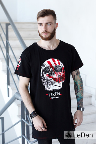 Футболка LeRen Die is Cast Black