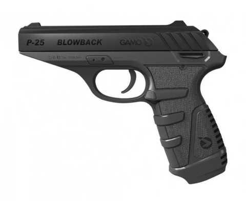 Пневматический пистолет Gamo P-25 Blowback 4,5 мм