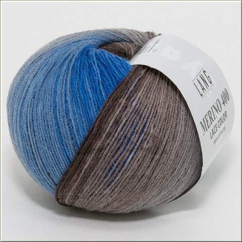 Пряжа MERINO 400 LACE COLOR Lang Yarns