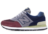 Кроссовки Женские New Balance 574 Suede Cherry Grey Navy