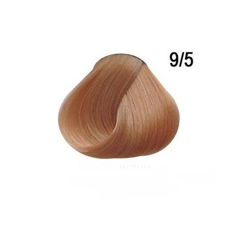 Перманентная крем краска для волос Ollin 9/5  махагоновый блондин