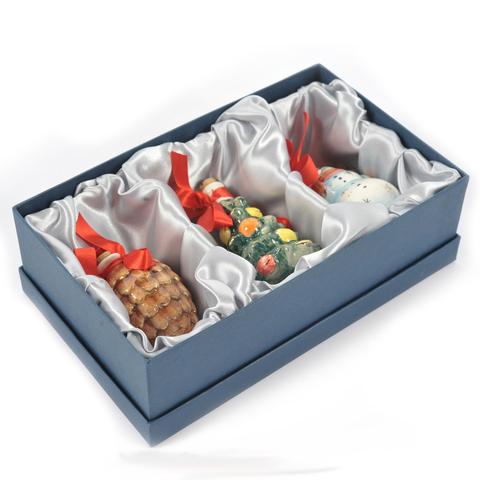 Подарочный набор мини-штофов №2 -3шт