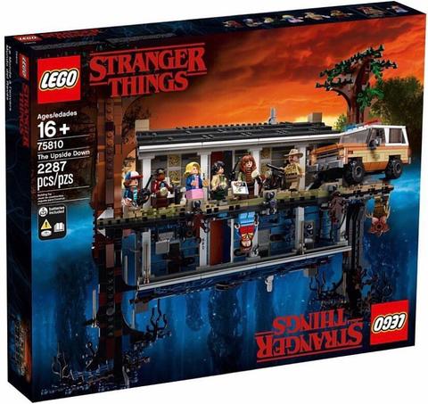 LEGO Exclusive: Очень странные дела - Stranger Things 75810 — The Upside Down — Лего Эксклюзив