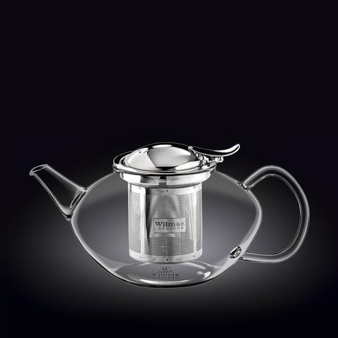 Заварочный чайник с ситечком Wilmax Thermo Glass 1050 мл (WL-888805)