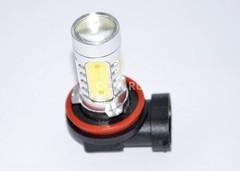 Габариты светодиодная лампа Н1 5SMD-7.5w с линзой