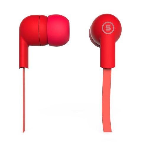 Наушники вакуумные S-Music Start CX-110 red