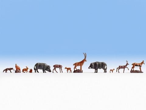 Дикие животные - 9 фигурок, (TT)