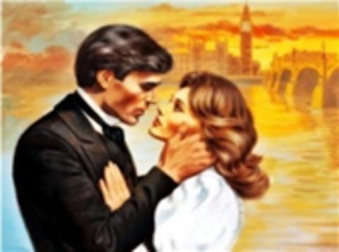 Картина раскраска по номерам 40x50 За секунду до поцелуя