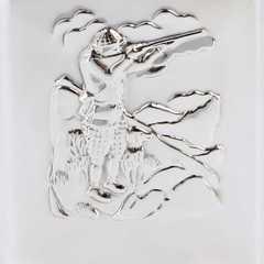 Итальянская фляга S.Quire «Охотник», 270 мл, фото 4