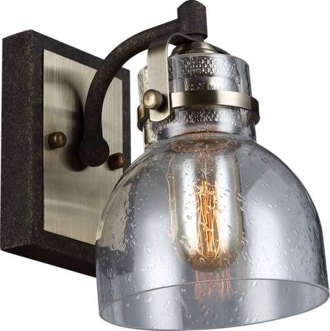 INL-6149W-01 Antique brass & Rusty