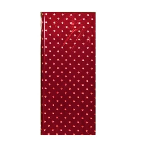 Бумага тишью Горох, 10 шт., 50x66 см, цвет: красный