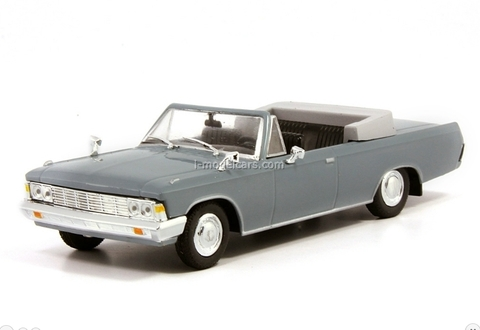 ZIL-117V gray 1:43 DeAgostini Auto Legends USSR #129