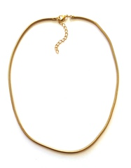 Ожерелье Snake золотистого цвета 24 мм.