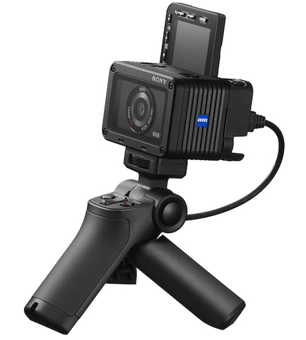Камера Sony DSC-RX0M2G + ручка-штатив VCT-SGR1 в Sony Centre Воронеж