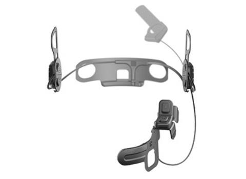 Bluetooth мотогарнитура с дистанционным управлением на руль SENA 10U для Shoei Neotec