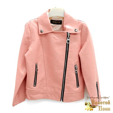 Куртка экокожа девочке (3-11) 200318-W2006.2