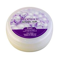 Deoproce Natural Skin Pearl Nourishing - Крем для лица и тела с экстрактом жемчуга
