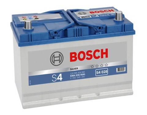 Аккумулятор BOSCH S4 Silver Asia 95Ah 830A R+