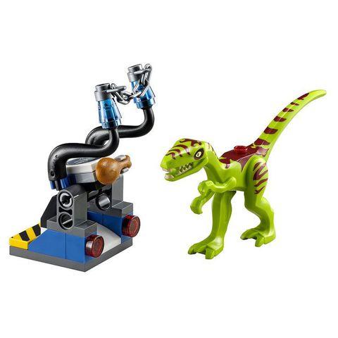 LEGO Jurassic World: Ловушка для галлимима 30320 — Gallimimus Trap — Лего Мир Юрского периода