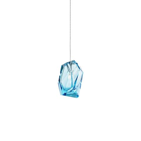Подвесной светильник Crystal Rock by Lasvit (голубой)
