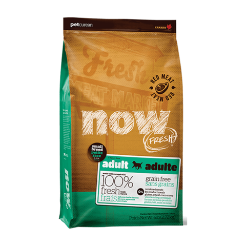 Now Natural Сухой корм для взрослых собак мелких пород со свежим ягненком и овощами беззерновой