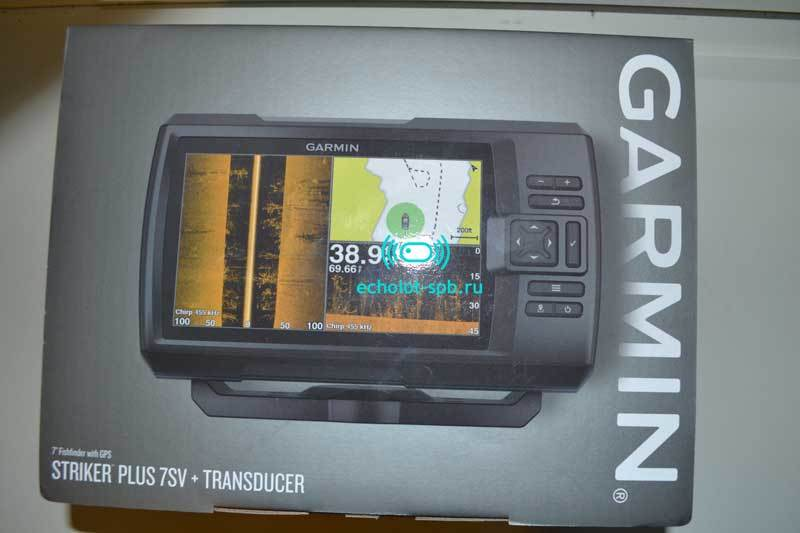 Коробка Garmin Striker Plus 7sv