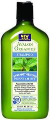 Мятный укрепляющий шампунь, Avalon Organics