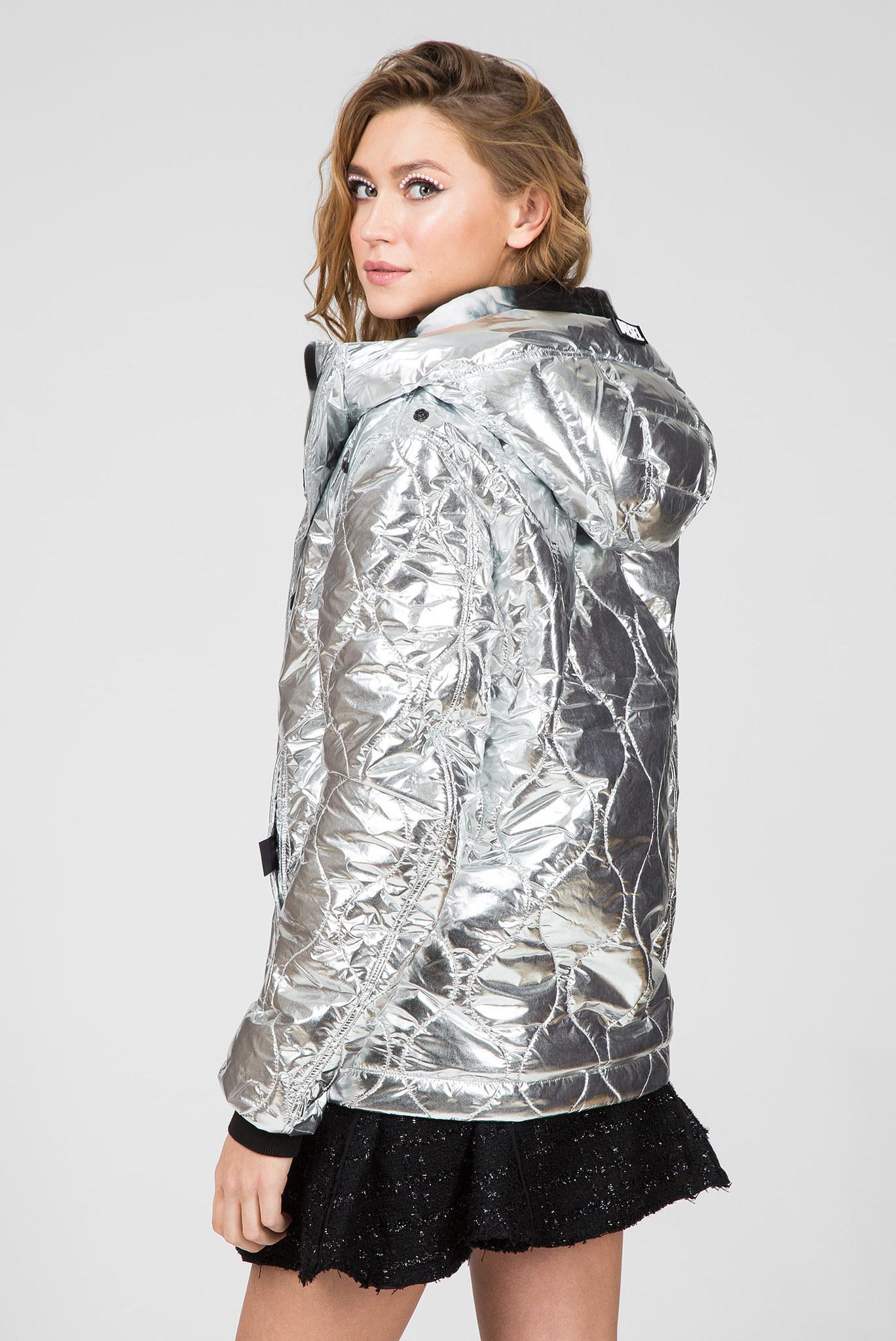 Серебристая куртка W-CRAWFORD Diesel